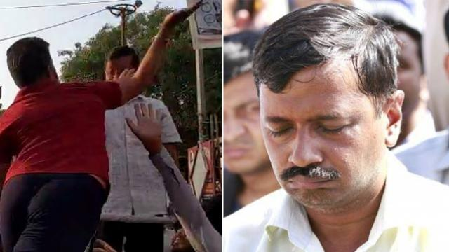 Attack on Arvind Kejriwal the slapgate incident