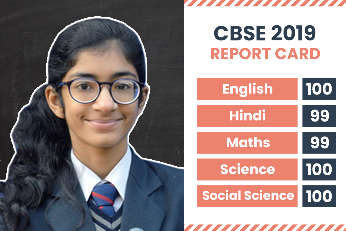 What Shivika, CBSE Class 10 Delhi Topper, has to say about her Excellent Marks in Examination